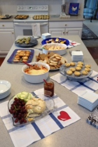 French and New York Style Hors d'oeuvres - Yum!